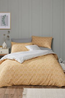 Fusion Yellow Ditsy Floral Duvet Cover and Pillowcase Set