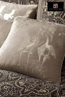 Laurence Llewelyn-Bowen Natural Crane Cushion