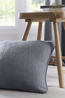 Appletree Charcoal Grey Boucle Cushion