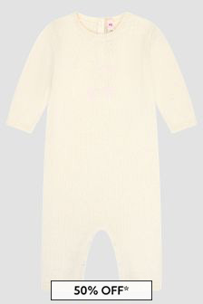 Bonpoint Baby Natural Rompersuit