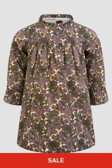 Bonpoint Baby Girls Grey Dress