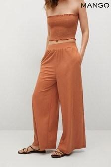 Mango Fluid Culotte Trousers