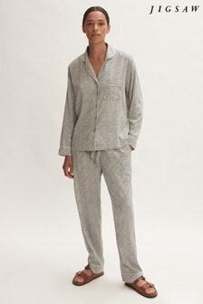 Jigsaw Linear Leaf Pyjamas