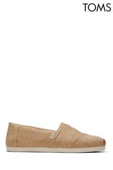 TOMS Alpargata Natural Burlap Shoes