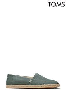 TOMS Alpargata Rope Slubby Woven Shoes