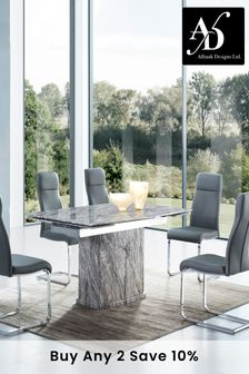 Novara Extending Marble Dining Table By Alfrank Designs