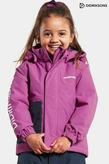 Didriksons Purple Lovis Kids Jacket