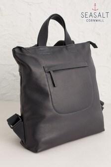 Seasalt Cornwall Black Polmenna Backpack