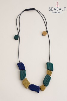 Seasalt Cornwall Yellow Accent Lines Necklace