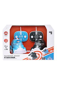 Sharper Image Blue Remote Control Cars Lights And Sounds 2 Pack