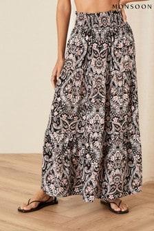 Monsoon Evissia Printed Skirt