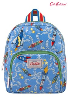 Cath Kidston Kids Blue Rockets Mini Backpack