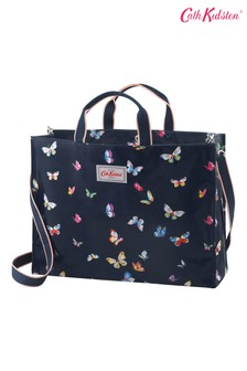 Cath Kidston Blue Butterflies Strappy Carryall Bag