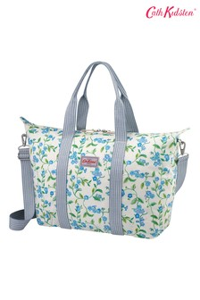 Cath Kidston Forget Me Not Cream Foldaway Overnight Bag