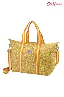 Cath Kidston Pembridge Ditsy Yellow Foldaway Overnight Bag