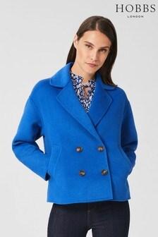 Hobbs Blue Rosanna Coat