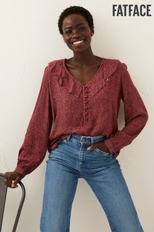 FatFace Pink Matilda Heritage Ditsy Blouse