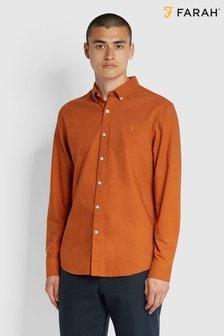 Farah Orange Brewer Shirt