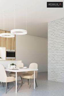 Arthouse White White Brick Wallpaper