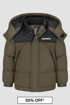 Timberland Boys Khaki Jacket
