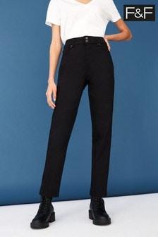 F&F Black Slim Jeans