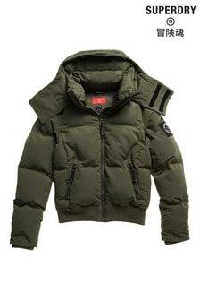 Superdry Green Code Everest Bomber Jacket