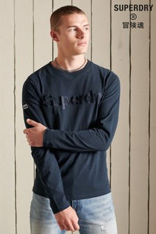 Superdry Classic Logo Source Long Sleeve Top