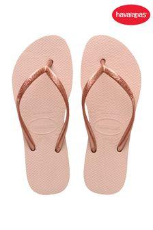 Havaianas Pink Slim Flatforms