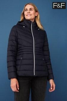 F&F Blue Short Padded Coat