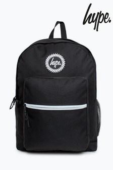Hype. Black Black Badge Utility Backpack