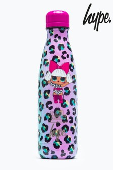 Hype. L.O.L. Diva Leopard Metal Bottle
