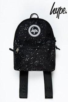 Hype. Black Speckle Mini Backpack