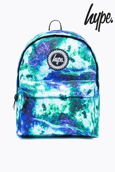 Hype. Blue Electric Space Backpack