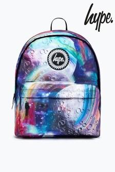 Hype. Black Rainbow Space Backpack