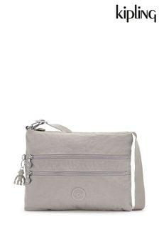 Kipling Grey Alvar Shoulder Bag