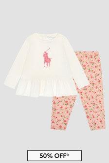 Ralph Lauren Kids Baby Girls Set