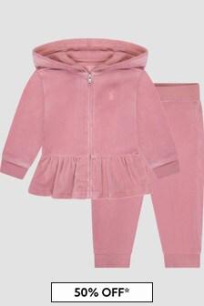 Ralph Lauren Kids Baby Girls Tracksuit