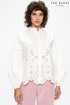 Ted Baker Itala Cut-Out Detail Shirt