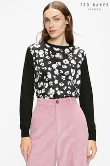 Ted Baker Chalia Woven Front Jumper