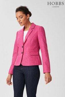 Hobbs Pink Hackness Jacket