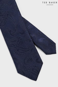 Ted Baker Africar Paisley Woven Tie