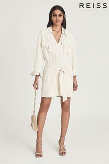 Reiss Lia Twin Pocket Dress