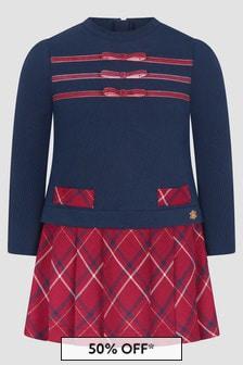 Miranda Girls Navy Dress