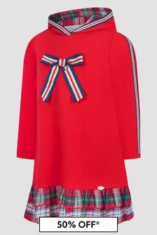 Miranda Girls Red Dress