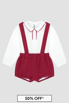 Miranda Baby Boys Red Outfit