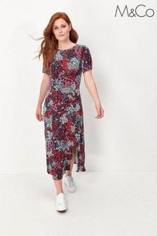 M&Co Floral Midi Dress