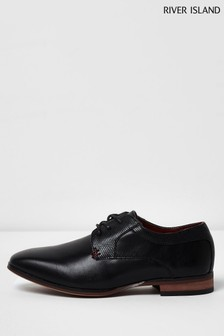 River Island Black Pointed Shoes