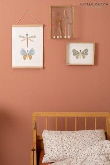 Little Dutch Butterfly A3 Poster
