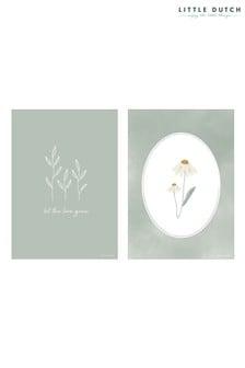 Little Dutch Wild Flowers A3 Poster