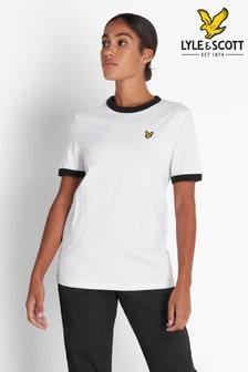 Lyle & Scott White Ringer T-Shirt